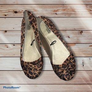 Charlotte Russe leopard print shoes size 9